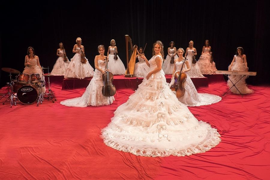 Женский струнный оркестр